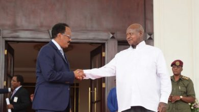 Photo of Somali President Meets With His Ugandan Counterpart In Kampala