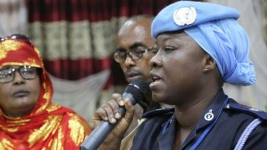 Photo of UN Police Officer Recognized For Protecting Vulnerable Somali Women From Abuse