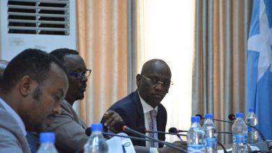 Photo of Senate's Standing Committee Holds Meeting In Mogadishu