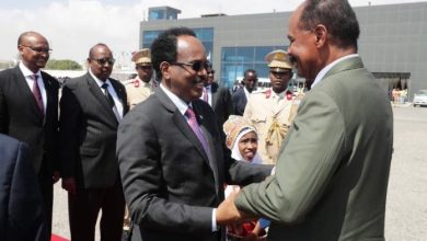 Photo of Eritrean President Arrives In Mogadishu For First Visit To Somalia