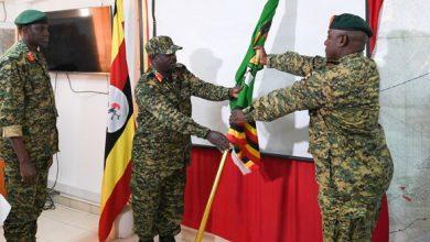 Photo of Brig. Gen. Kabango takes charge of UPDF in Somalia