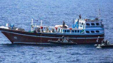 Photo of Indian Navy Ship Seizes Arms, Ammunition Off Somali Coast