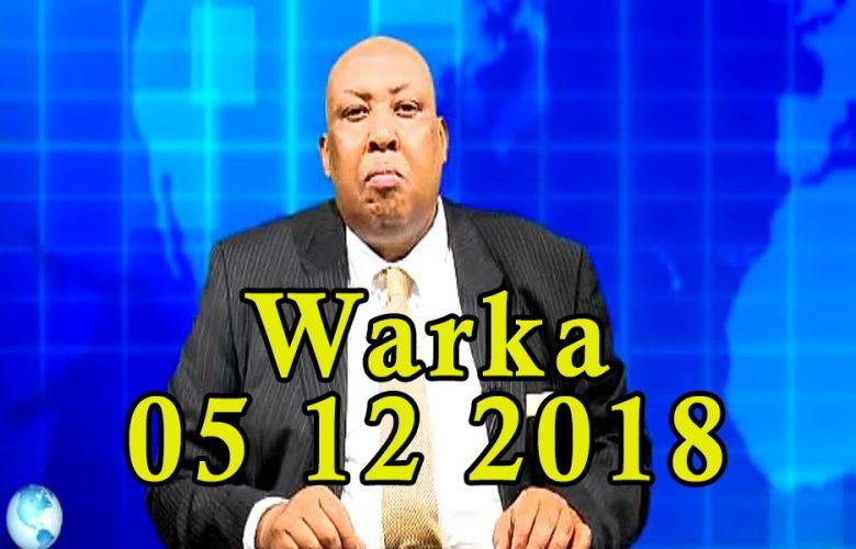 WARKA 05 12 2018 Dhalinyaro ku jirta xabsiga dhexe oo magaalada Muqdisho kusoo bandhigay alaabo lala yaabay ay sameeyen