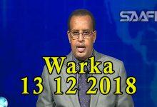 WARKA 13 12 2018 Dowlada Soomaaliya oo magaalada Baydhabo kasoo afduubatay musharax Mukhtaar roobow