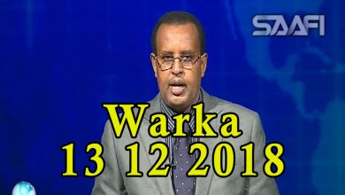 Photo of WARKA 13 12 2018 Dowlada Soomaaliya oo magaalada Baydhabo kasoo afduubatay musharax Mukhtaar roobow