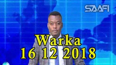 Photo of WARKA 16 12 2018 Wasiirkii hawlaha guud iyo guriyeynta Cabdifitaax Ibraahim Geesey oo iska casilay x