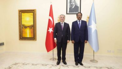 Photo of New Turkish Ambassador Presents His Credentials To President Farmajo