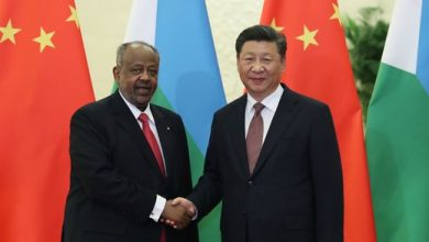 Photo of Chinese, Djibouti presidents exchange congratulations on 40th anniversary of ties