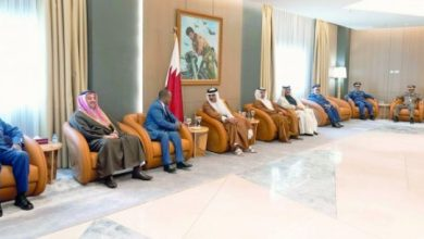 Photo of Qatar Amir Meets Minister Of Defence Of Somalia