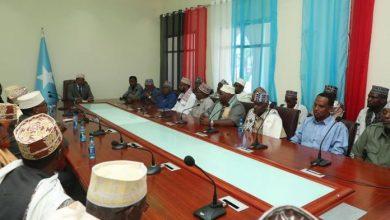 Photo of Somali President Meets With Elders In Baidoa City