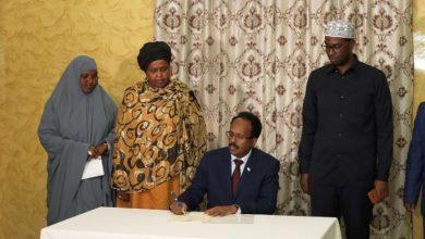 Photo of Somali President Inks Deal To Establish National Disability Agency