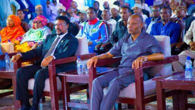 Photo of National Assembly Speaker Attends An Event In Baidoa Town