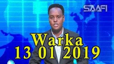 Photo of WARKA 13 01 2018 Dowlada Soomaali oo shirkado Shiinees ah gacanta u gelisay kaluunkii dalka