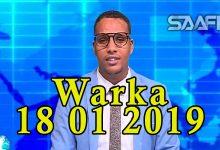 WARKA 18 01 2019 Ciidamada booliiska oo ka hadlay askari lacag baad ah ka qaadaya qof rayid oo la xiray