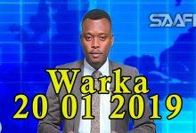 WARKA 20 01 2019 Ciidamada Jubaland oo ka warbixiyey duqeymo Al shabaab loo geystay iyo khasaarihii ka dhashay