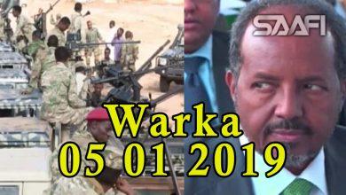 Photo of Warka 05 01 2019 Ciidamada Jubalan oo dhoolatus ka sameeyay Kismaayo & Xasan Sh. oo