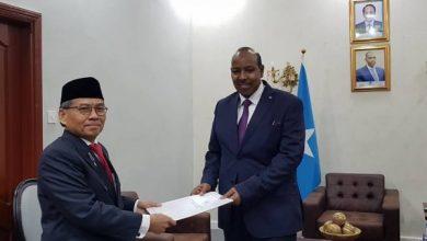 Photo of Indonesia Sends New Ambassador To Somalia