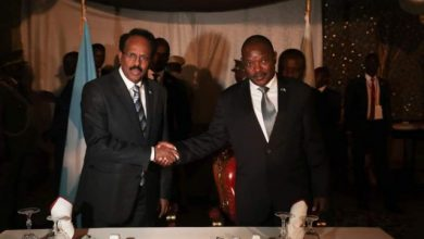 Photo of Somali President Meets With His Burundian Counterpart
