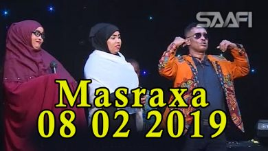 MASRAXA FURAN 08 02 2019 Majaajilo qosol iyo dhalinyaro codkooda iyo heesahooda tijaabinaya