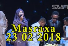 MASRAXA FURAN 22 02 2019 Majaajilo qosol iyo dhalinyaro codkooda iyo heesahooda tijaabinaya