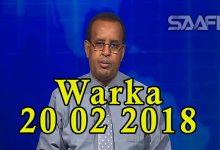 WARKA 20 02 2019 Madaxweyne Farmaajo iyo wefdi uu hogaaminayo oo si heer sare ah loogu soo dhaweeyey dalka Jabuuti