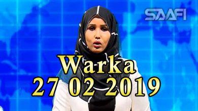 Photo of WARKA 27 02 2019 Madaxweyne Maxamed Cabdulaahi Farmaajo oo kulan la qaatay amiirka dalka Qatar