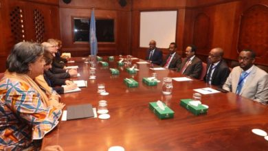 Photo of President Farmajo Meets With The UN Secretary General