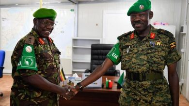 Photo of New AMISOM Deputy Force Commander Assumes Office