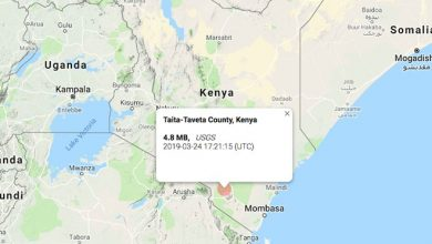 Photo of Earth tremors reported in Kenya's capital and other parts