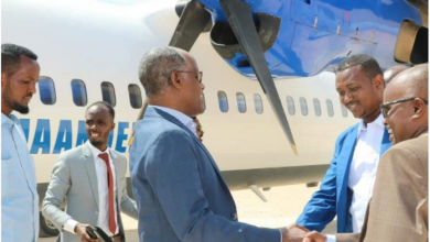 Photo of Somalia's Interior Minister Arrives In Galmudug State Capital