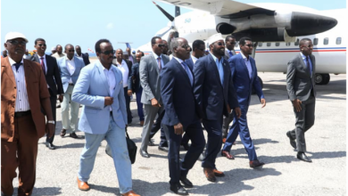 Photo of Jubaland President Arrives In Mogadishu