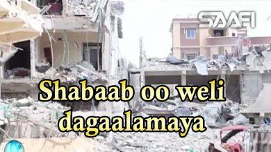 Photo of Al shabaab oo wili ka dhex dagaalamaya goobihii ay galeen oo qaraxyada ku weerareen 01 03 2019