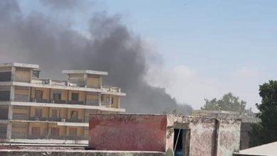 Photo of Somalia's Capital Mogadishu Hit By Huge Explosion