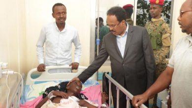 Photo of Somali President Visits Mogadishu Attack Victims, Death Toll Jumps To 30