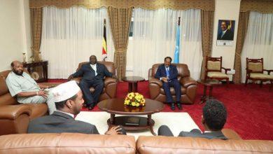 Photo of Somali President In Uganda For Summit