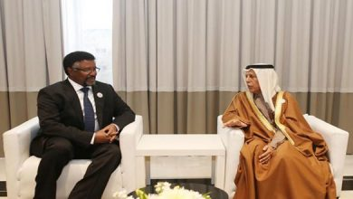 Photo of Somali Parliament Speaker Meets With His Qatari Counterpart