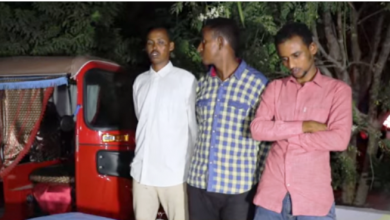 Photo of Three Militants Nabbed In Mogadishu Operation