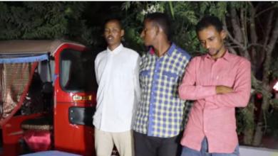 Photo of Three Militants Nabbed In Mogadishu Operation