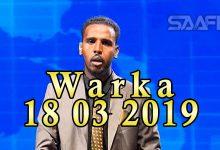 WARKA 18 03 2019 Madaxweyne Muuse Biixi Cabdi oo xafiiskiisa ku qaabilay wefdi ka socda dowlada Eriteriya