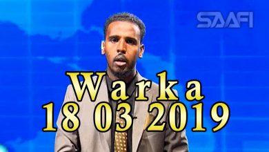 Photo of WARKA 18 03 2019 Madaxweyne Muuse Biixi Cabdi oo xafiiskiisa ku qaabilay wefdi ka socda dowlada Eriteriya