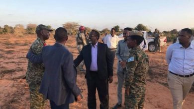 Photo of Somali Officials Visit Frontline For A Fact-Finding Mission