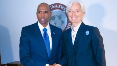 Photo of IMF Managing Director meets with Somalia's Prime Minister Khaire
