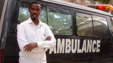 Photo of The man behind Somalia's only free ambulance service