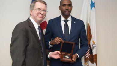 Photo of Somali PM Meets US Deputy Defense Secretary