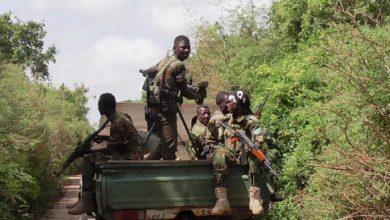 Photo of Somali, AU Troops Clash With Al-Shabaab In Southern Somalia