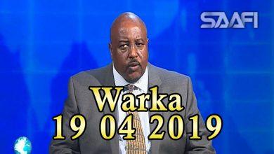 Photo of WARKA 19 04 2019 Madaxweyne Farmaajo tuutahiisa qaba oo magaalada Muqdisho qaabilay wefdi ka socda dalka Sacuudiga