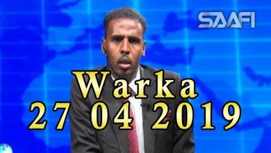 Photo of WARKA 28 04 2019 Taliska ciidanka booliiska Soomaaliyeed oo ka warbixiyey hawlgalo la sheegay in xubno Shabaab ka tirsan lagu soo qabqabtay