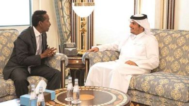 Photo of Somali Foreign Affairs Minister Meets With His Qatari Counterpart