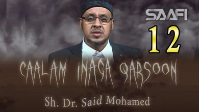 Photo of 12 Caalam inaga qarsoon (Jinka & shayaadhiinta) Sheekh Siciid Maxamed Faarax