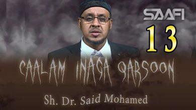 Photo of CAALAM INAGA QARSOON Sh Saciid Maxamed Part 13